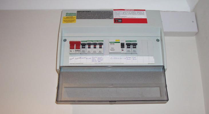Crabtree distribution boards