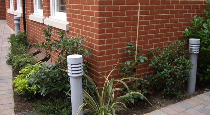 External bollards electrics