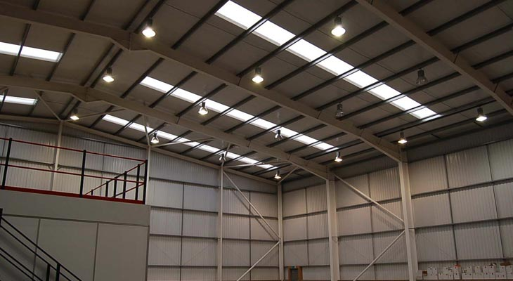 High bay lighting in Croydon