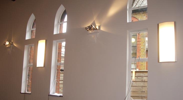 Subtle wall lighting