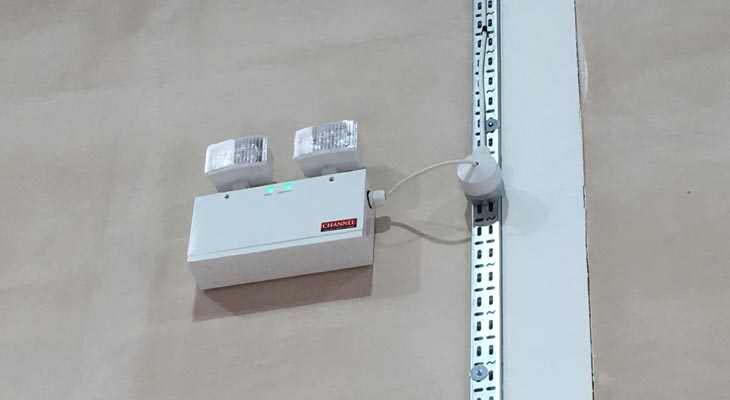 Warehouse emergency lighting