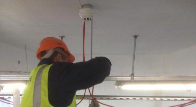 Fire alarm installers in Croydon
