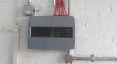 Commercial fire alarm unit