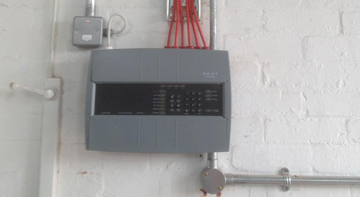 Commercial fire alarm unit