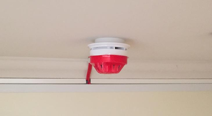 Domestic Smoke & Fire Alarm